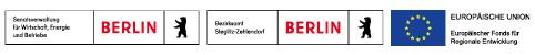 Logos Senatsverwaltung Berlin + EU