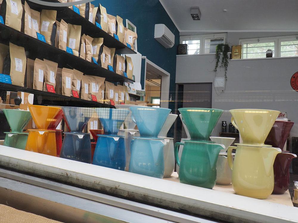 Toms Kaffeerösterei in Berlin-Zehlendorf // Friesland-Kannen