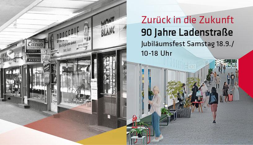 90 Jahre Ladenstraße - Jubiläumsfest