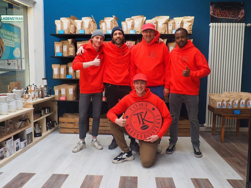 Toms Kaffeerösterei in Berlin-Zehlendorf // Das Team