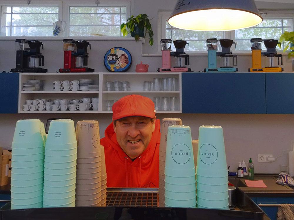 Toms Kaffeerösterei in Berlin-Zehlendorf // Geschäftsführer Thomas Schwarz