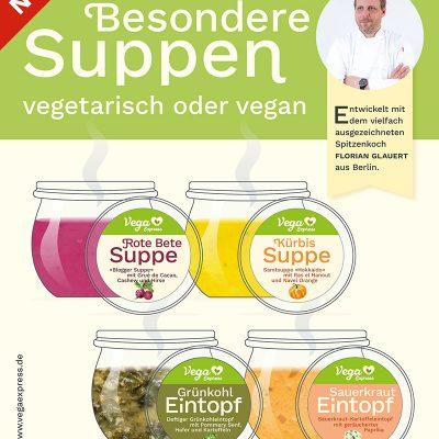 Besondere Suppen vegetarisch oder vegan von Vega Express