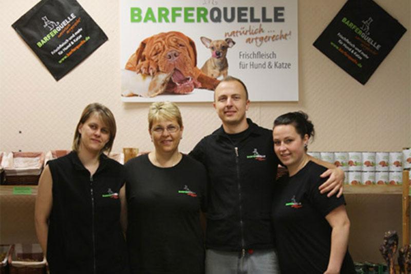 Das Team der Barferquelle