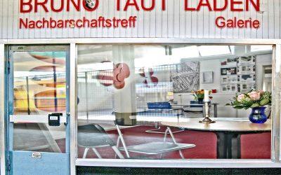 Wieder geöffnet: der Bruno Taut Laden in der Ladenstraße Nord
