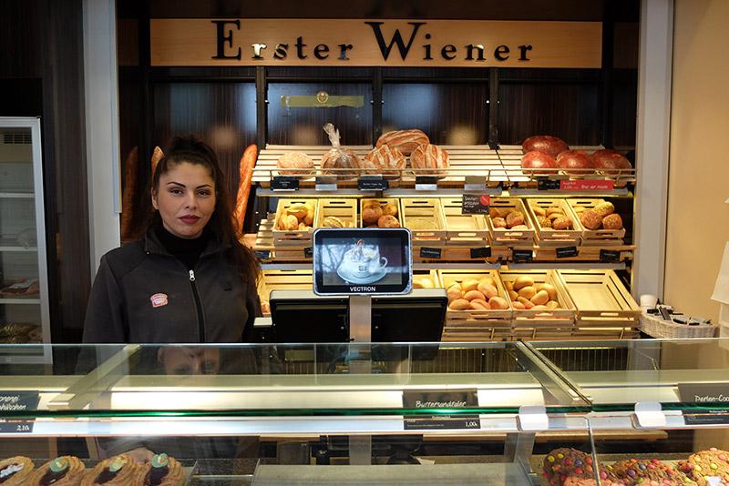Wiener Feinbäcker in Onkel Toms Ladenstraße in Zehlendorf
