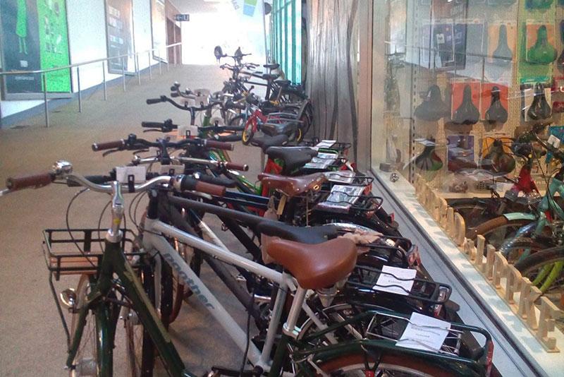 Fahrrad Lippke in der Ladenstraße Nord