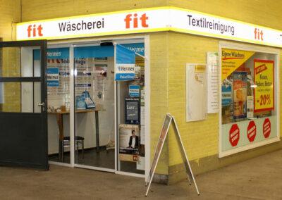 Waschsalon, Wäscherei und Textilreinigung fit