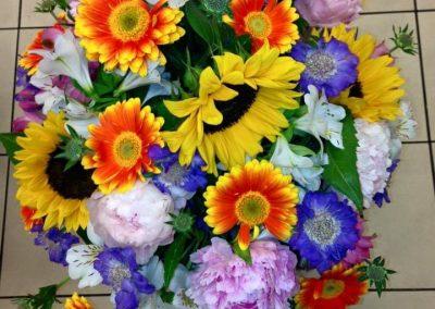 Blumenstrauß // Toms Blumenhütte am U-Bhf. Onkel Toms Hütte in Berlin-Zehlendorf