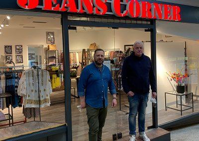 Neueröffnung Jeans Corner am Montag, 3. Mai 2021