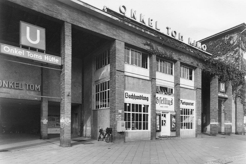 Historische Ansichten von Onkel Toms Ladenstraße