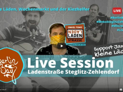 Live Session Ladenstraße Steglitz-Zehlendorf