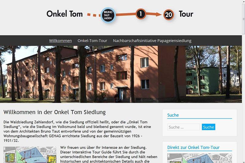 Sehenswert Onkel Toms Hütte - Onkel Tom Tour